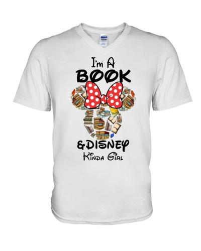 Book and Disney girl