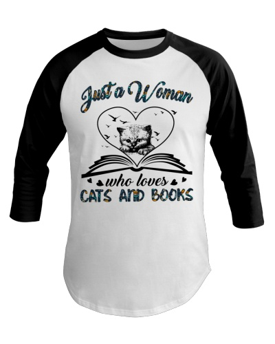Just a woman who loves cats and books