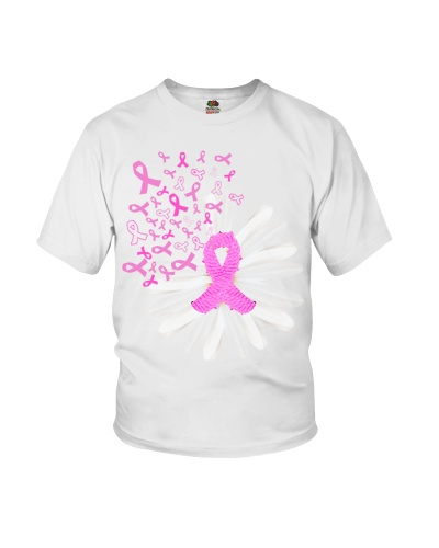 Daisy flower- Breast cancer Awareness