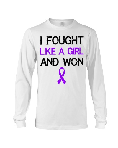 Alzheimer Awareness - I fought like a girl