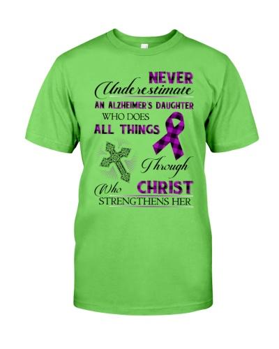 Never underestimate - Alzheimer's Awareness