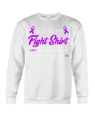 This is my fight shirt - Alzheimer's Awareness