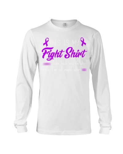 This is my fight shirt - Alzheimer's Awareness