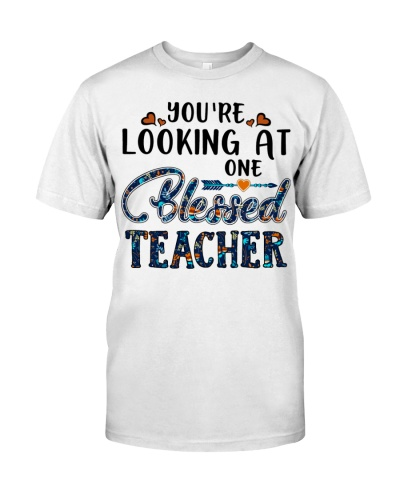 You are looking at one blessed teacher
