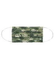 Cute camouflage feet Cloth face mask aos-face-mask-coverlet-lifestyle-front-01