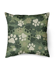 "Cute camouflage feet Indoor Pillow - 18"" x 18"" thumbnail"