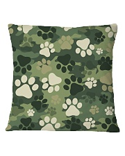 Cute camouflage feet Square Pillowcase thumbnail