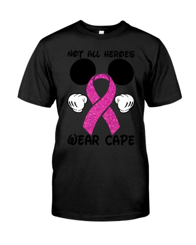 Not all heroes wear cape - Breast cancer Awareness