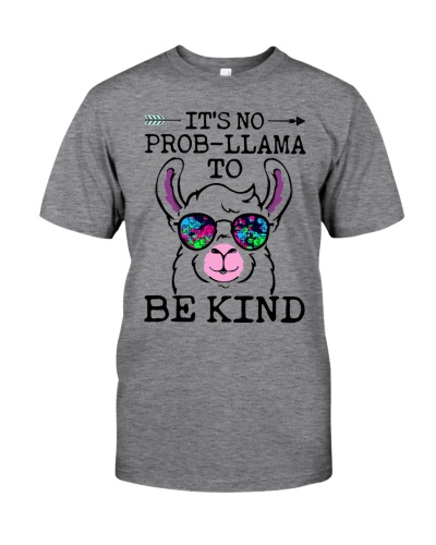 It's No prob-llama to Be Kind - Autism Awareness