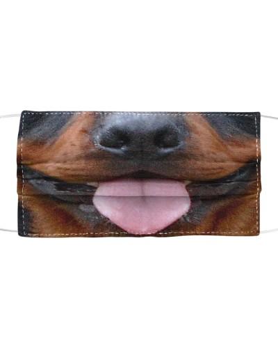 Cute Tongue Rottweiler