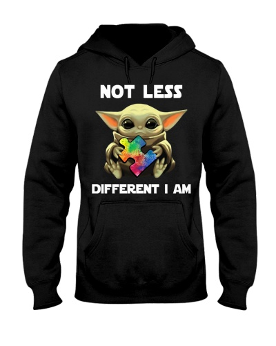 Not less Different I am - Autism Awareness