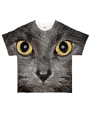 Cute Black Cat All-over T-Shirt thumbnail