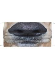 Cute Golden Retriever Nose Cloth face mask front