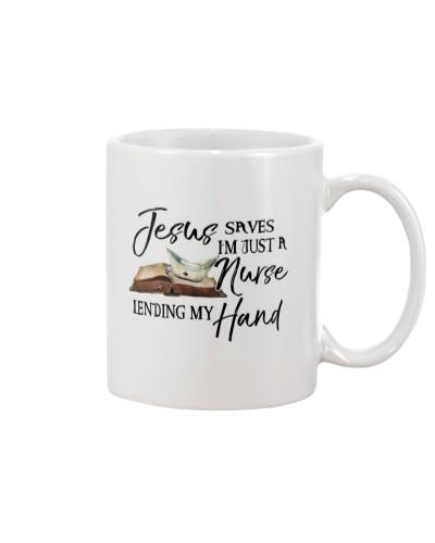 Nurse - Jesus saves lives