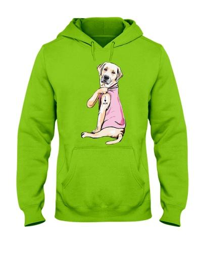 I love Mom - Funny Labrador