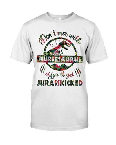 Don't mess with Nursesaurus