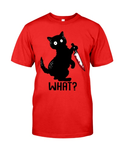 What - Funny Halloween Cat