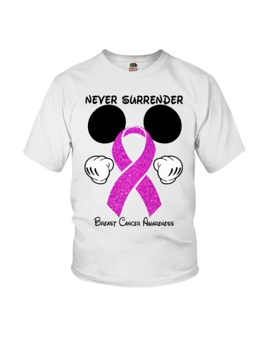 Never surrender - Breast cancer Awareness