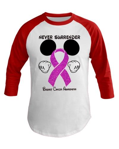 Never surrender - Breast cancer Awareness