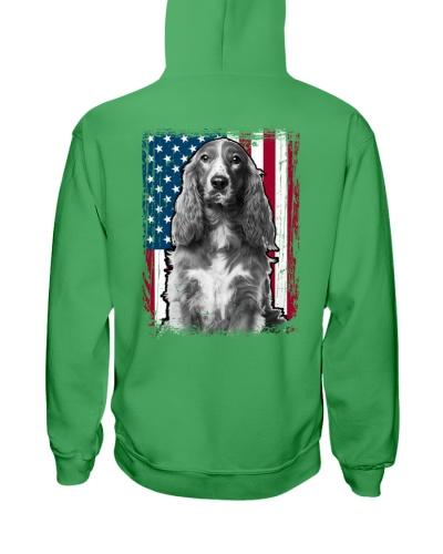 Cocker Spaniel Dog Flag