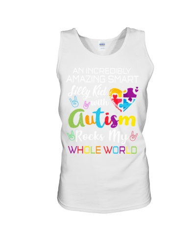 An autism kid rocks my world