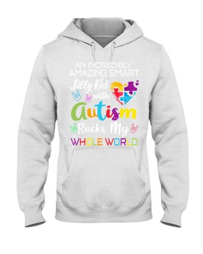 An autism kid rocks my world