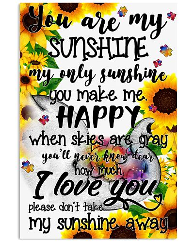 You are my sunshine - Autism Awareness