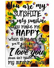 You are my sunshine - Autism Awareness 24x36 Poster front