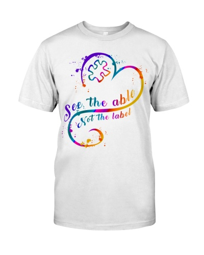 See the able not the label - Autism Awareness