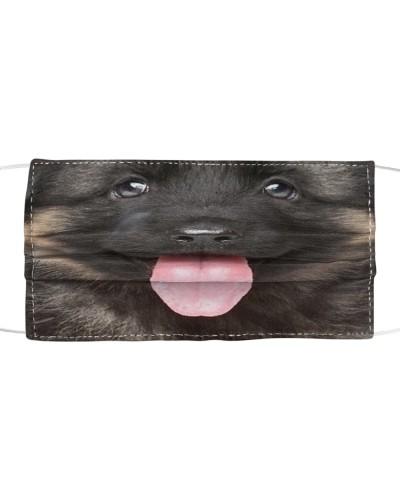 Cute Smiling German Shepherd Puppy
