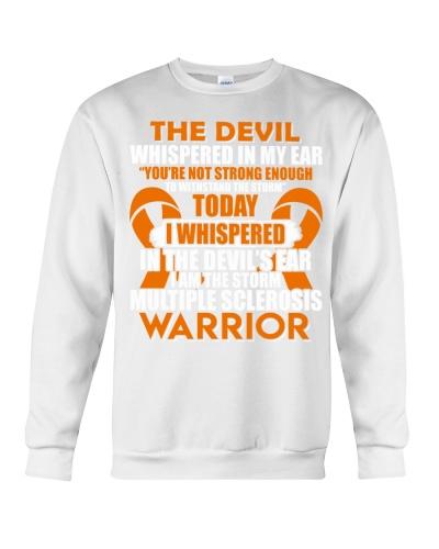 The devil whispered - Multiple Sclerosis Awareness