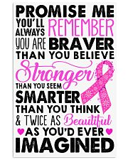 Promise me - Breast caner Awareness Month 11x17 Poster front