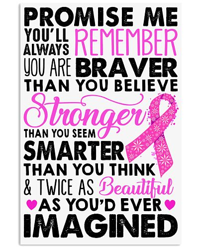 Promise me - Breast caner Awareness Month