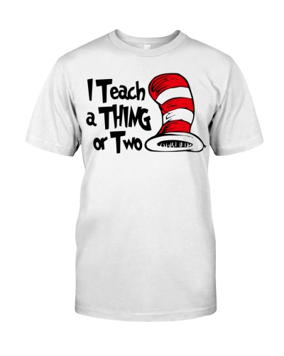 I teach a thing