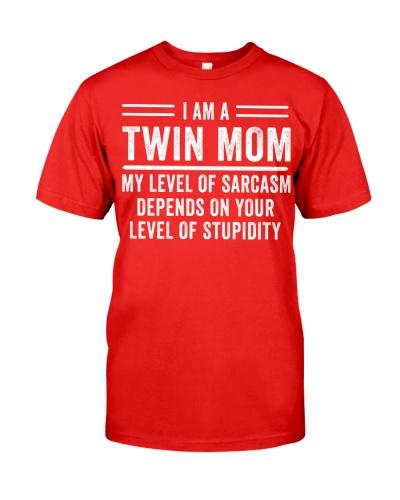 I am a Twin Mom - My level of sarcasm
