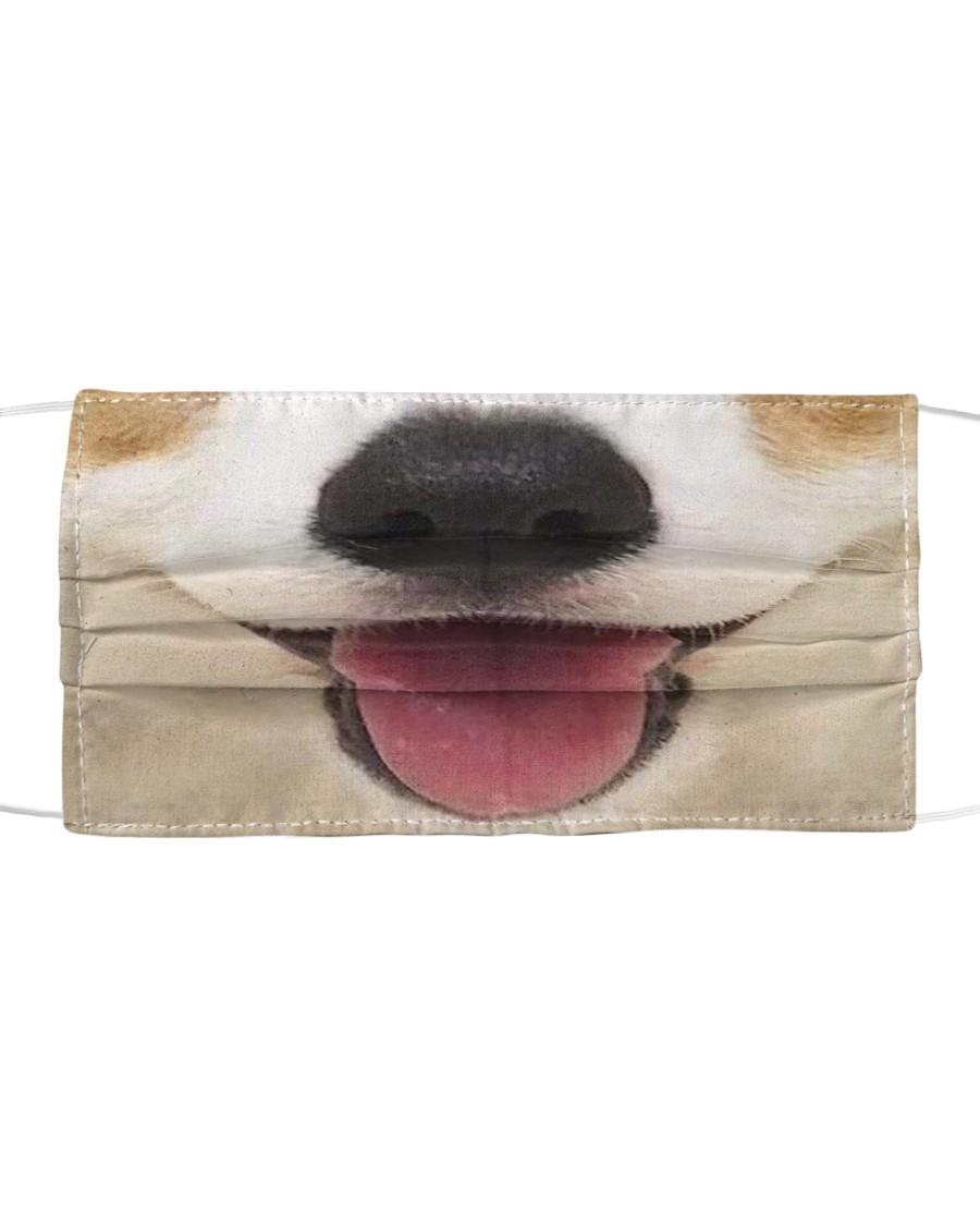 Cute Smiling Corgi Cloth face mask