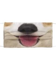 Cute Smiling Corgi Cloth face mask front