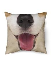 """Cute Smiling Corgi Indoor Pillow - 16"""" x 16"""" thumbnail"""