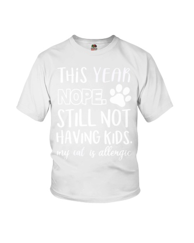 This year Nope Funny Cat Lover