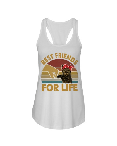 Best friends For Life - Cute Cat Shirt for people