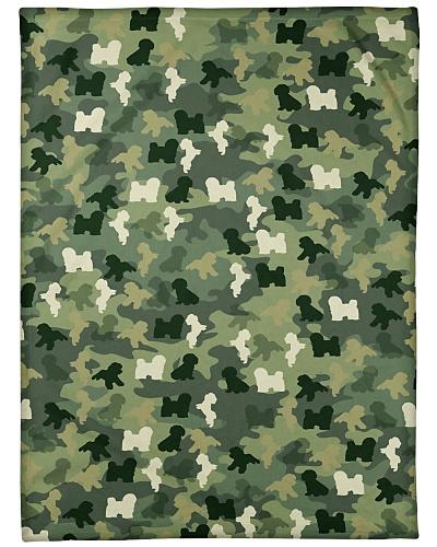 Camouflage Bichon Frise Dog