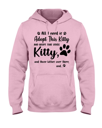 All I need is adopt this kitty