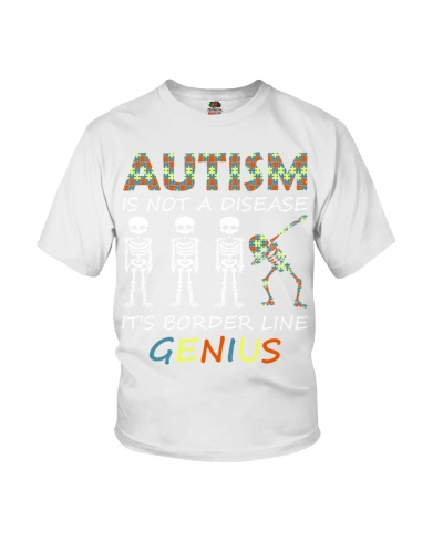 It's border line genius - Autism Awareness