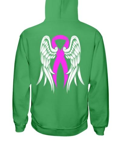 Pink Ribbon Wing - Breast cancer Awareness