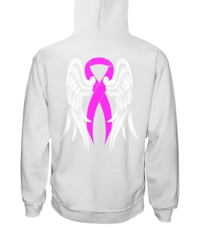 Pink Ribbon Wing - Breast cancer Awareness