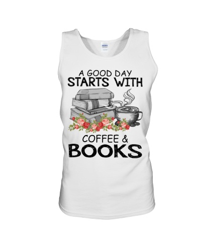 A good day starts with coffee and books