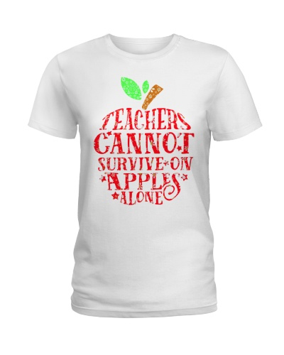Teachers cannot survive on apples alone