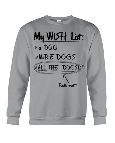 My wish list Funny Dog lover