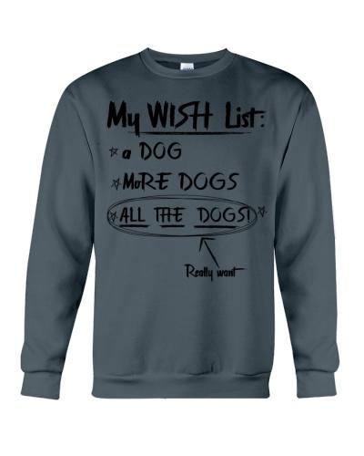 My wish list Funny Dog lover