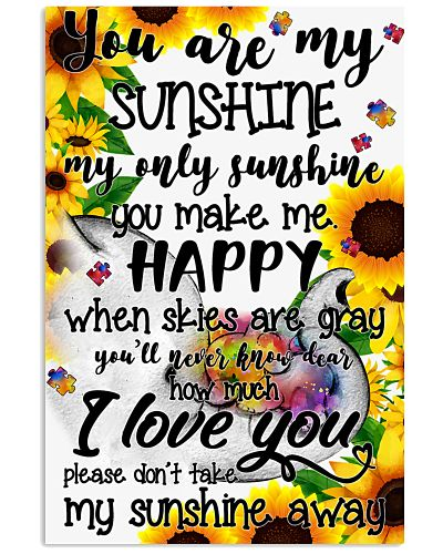You are my sunshine - Autism Awareness Poster